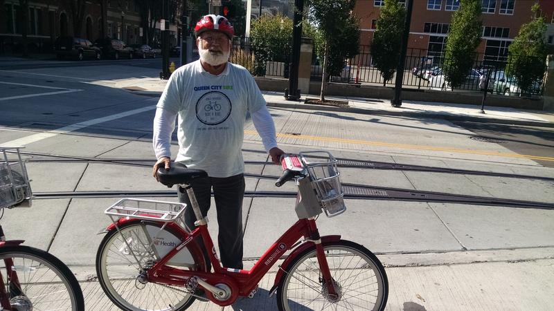 Frank Henson is the president of Queen City Bike.