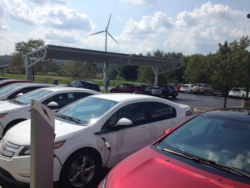 Many of the people who work at Melink drive electric cars.