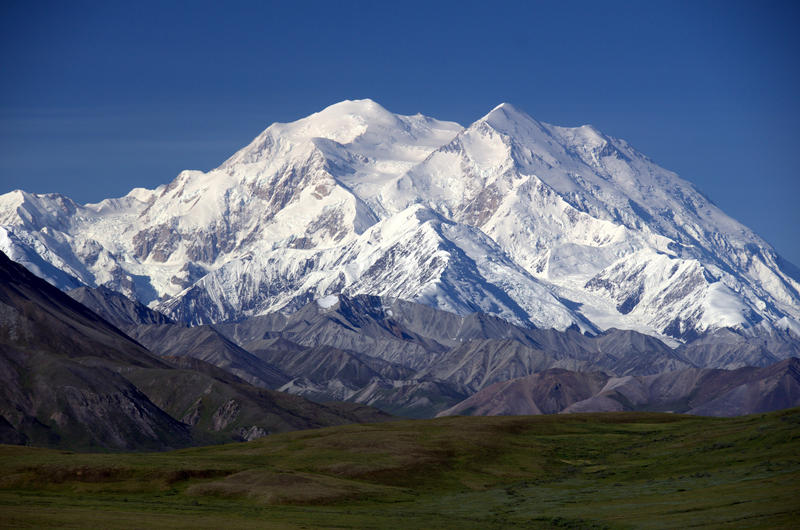 mt mckinley how tall