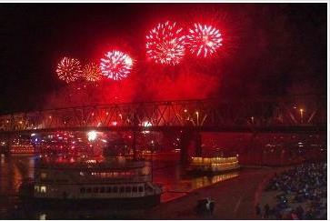 Past Western-Southern/WEBN-FM Riverfest fireworks over the Ohio River.