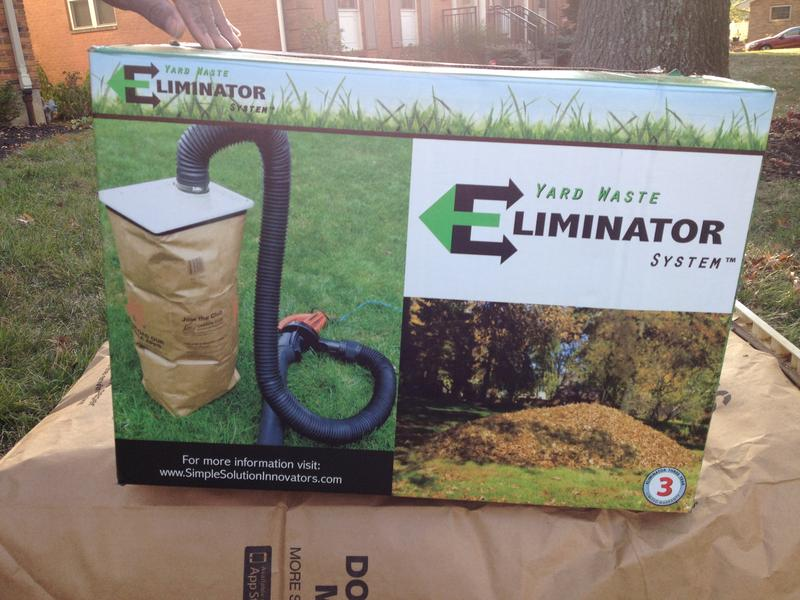 """Glisson has a patent pending on """"The Eliminator."""""""