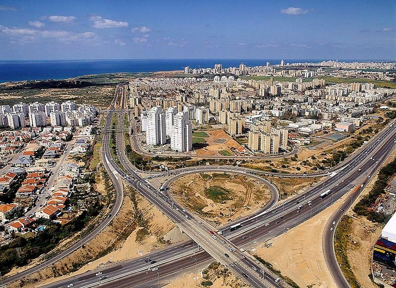 Netanya, Israel where CEMax, an Israeli company, with offices now in Cincinnati, began