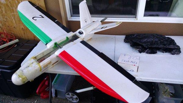 First-aid medicine and other life-saving supplies are the most likely cargo for these lightweight drones' trips into Syria.