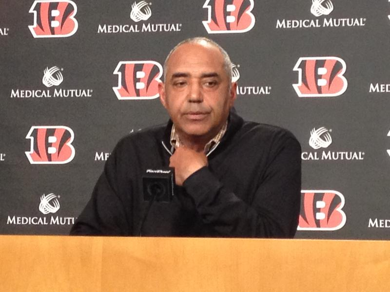 Bengals Head Coach Marvin Lewis reflects on Saturday's game and the behavior of his players.
