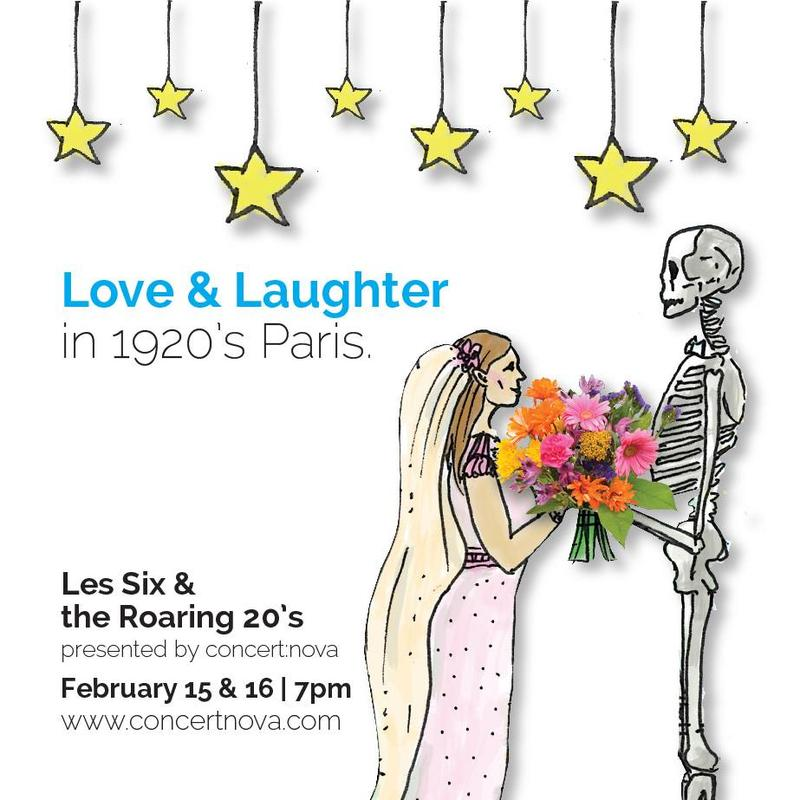 Les Six & The Roaring 20's takes place February 15 & 16 at The Transept