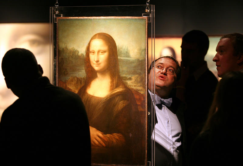 French  engi neer and examiner of fine art Pascal Cotte talks about the Mona Lisa.