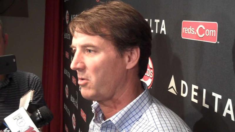 Reds GM Dick Williams says the data analytics department is kind of like a laboratory, always working and innovating.