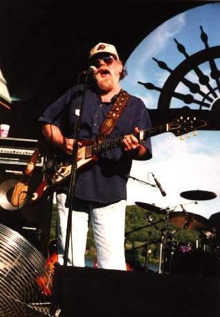 Lonnie Mack in performance with his band in Rising Sun, Indiana in 2003.