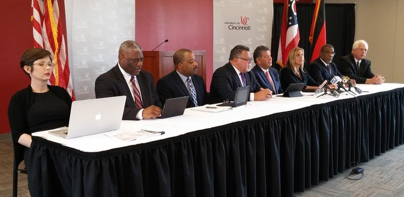 Members of the Exiger consultant team, and UC's public safety leaders discuss the reforms for campus policing.