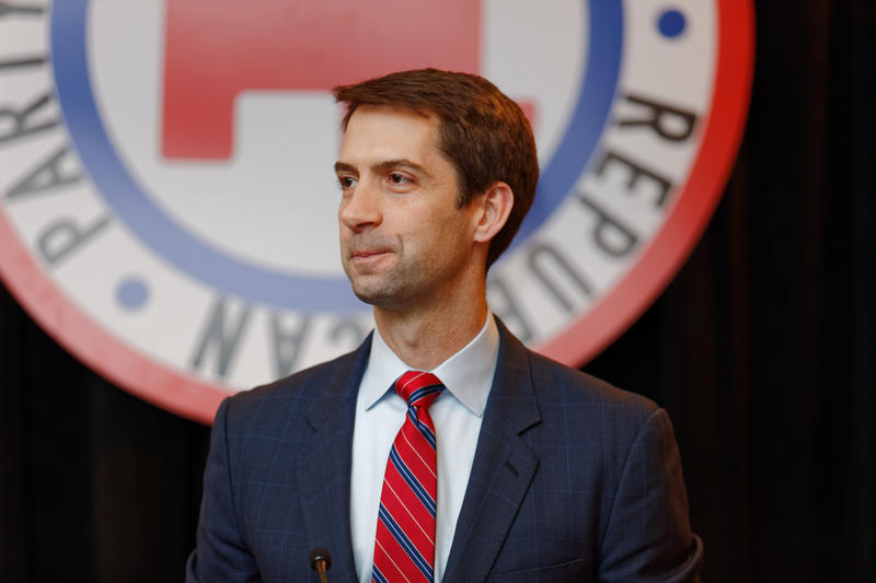 Sen. Tom Cotton speaking Jan. 23, 2016 at First In The Nation Townhall, New Hampshire Republican Committee