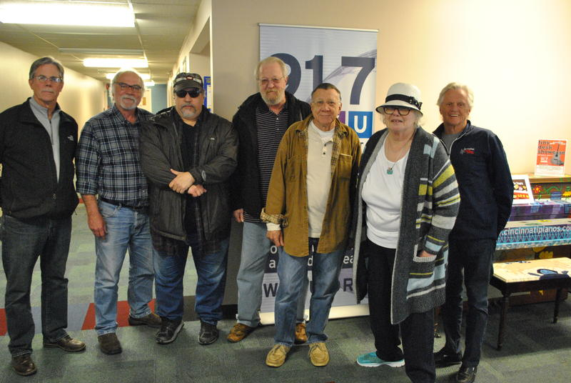 L-R: Joe Stewart Brian O'Donnell Marcos Sastre Larry Goshorn Billy Hinds Katie Laur Gary Burbank