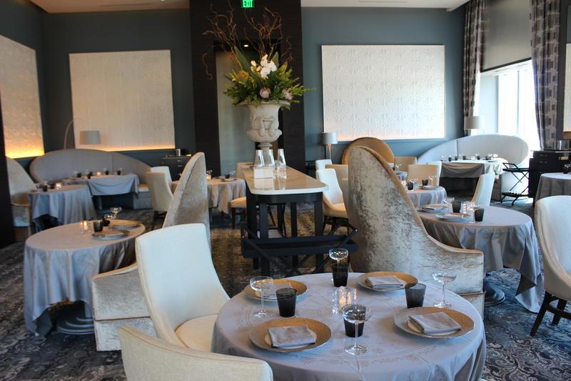 The main dining room at Restaurant L.