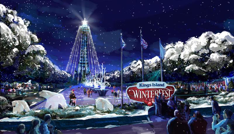 Kings Island Winterfest  Schedule