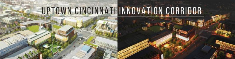 Uptown Cincinnati is being transformed into a vibrant innovation corridor, with new and improved retail, commercial spaces, housing and transportation.