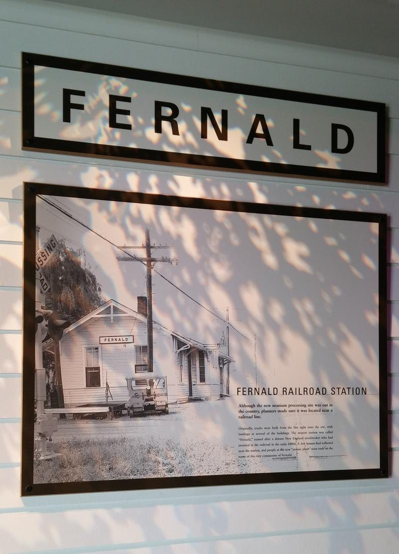 "The name ""Fernald"" came from the nearest train station, which was named for an investor in the railroad."