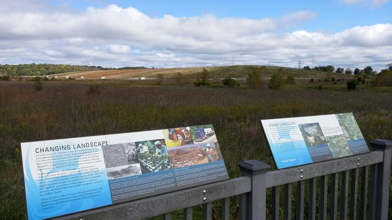 The Fernald Nature Preserve has seven miles of trails, and wildlife viewing areas.