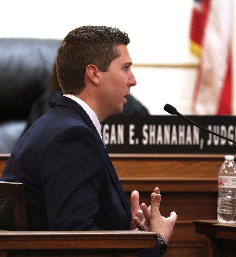 Former University of Cincinnati police officer Ray Tensing talks about why he pulled over Sam DuBose while on the stand in his murder trial.