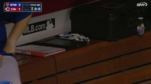 The Cincinnati Reds have used iPads in the dugout beginning with a 2014-2015 MLB pilot program.