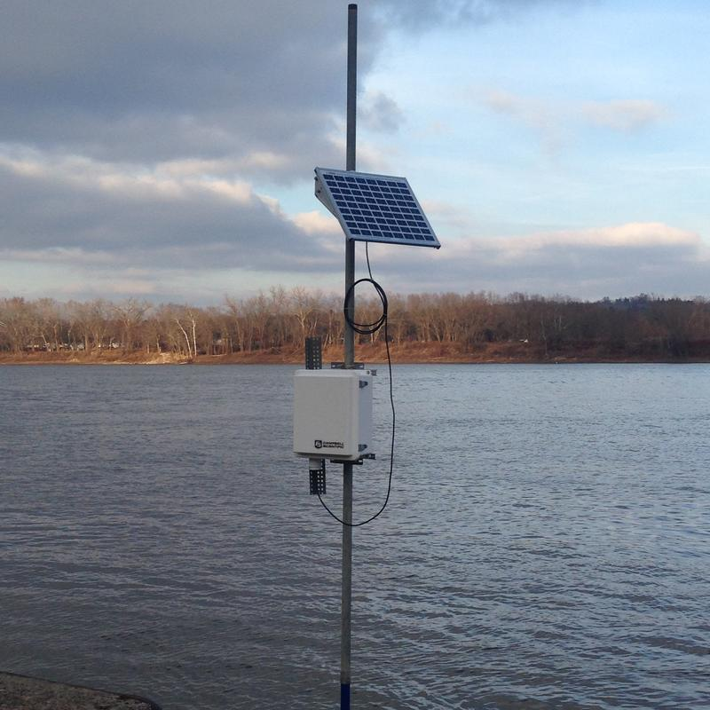 This camera at the TMC Ohio River Biology Field Station in California, KY is the first in what is hoped with be a network of cameras along the Ohio River to detect algal blooms earlier.