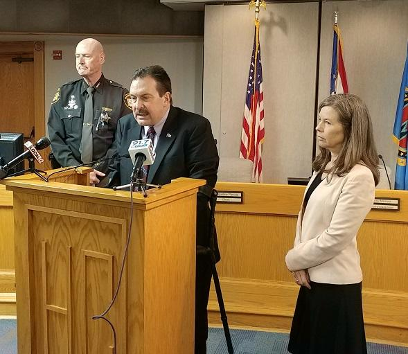 Sheriff Neil, Board President Portune, and Commissioner Driehaus say the county will fund body cameras for deputies.