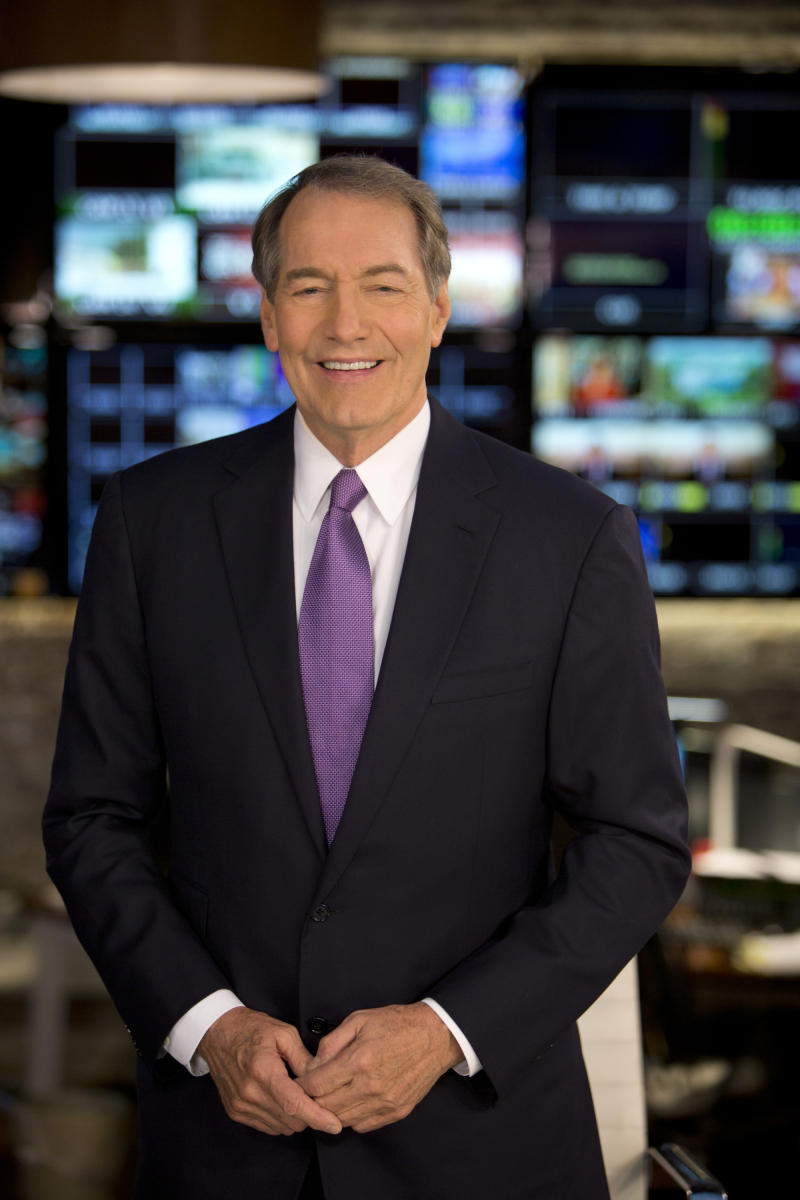 "Charlie Rose co-anchors ""CBS This Morning"""