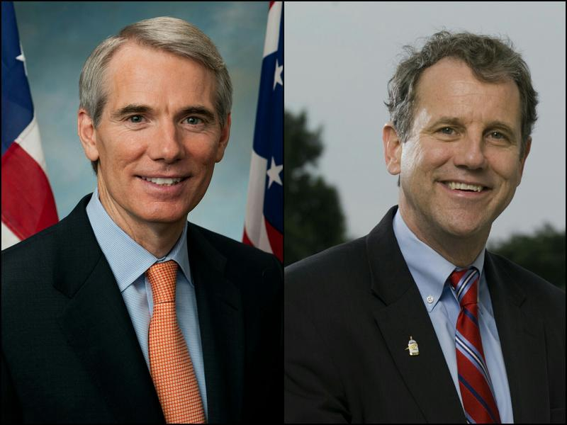 Senators Rob Portman and Sherrod Brown