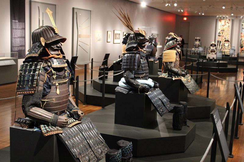 Dressed to Kill features eleven full suits of armor dating back to the 16th Century.