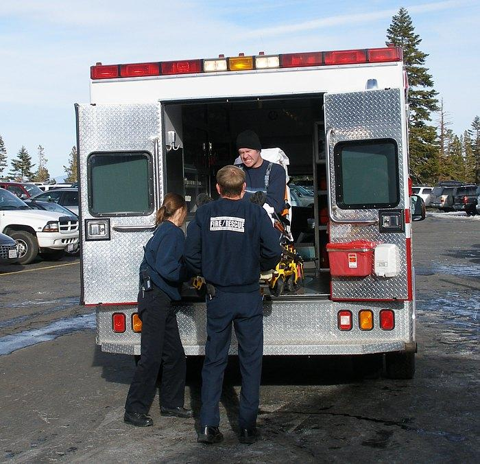 EMS professionals rush to the scenes of accidents, crisis situations and medical emergencies each day.