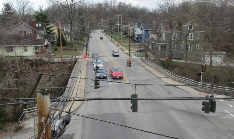The Marburg Avenue bridge will be closed for about six months.