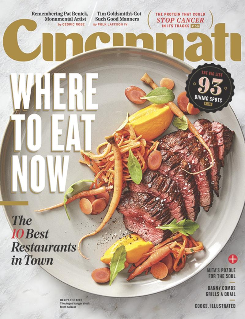 cincinnati magazine names its top 10 local restaurants in the march issue wvxu. Black Bedroom Furniture Sets. Home Design Ideas