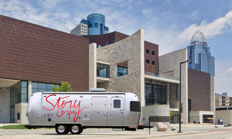 The StoryCorps MobileBooth will arrive in Cincinnati April 20, providing locals an opportunity to record their stories.
