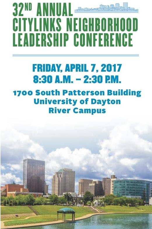 Dayton, Ohio neighborhood leaders will meet April 7 to discuss the city's challenges and opportunities.