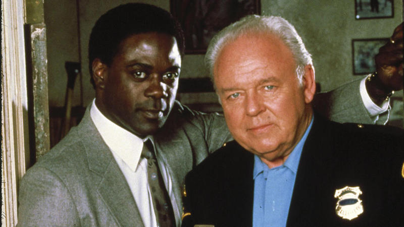 "Carroll O'Connor and Howard Rollins Jr. star in ""In The Heat Of The Night"" reruns on GET TV."