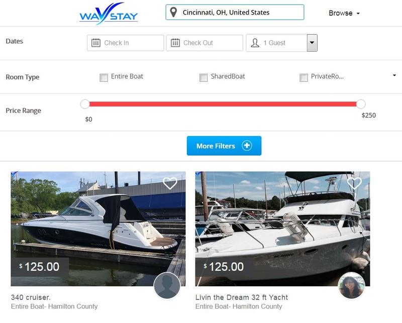 WavStay asks why stay on land when you can have a boat with a view.