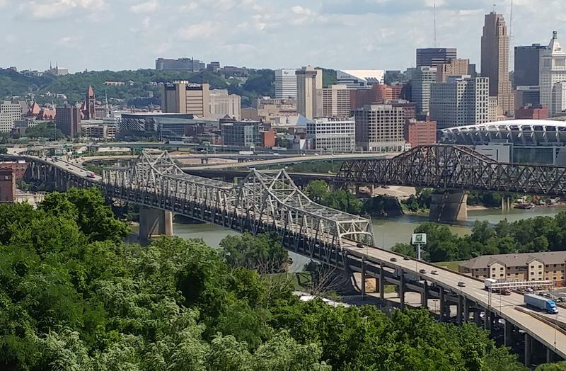 The Brent Spence Bridge already carries twice as much traffic as it was designed to handle. For two months, it will have half as many lanes.