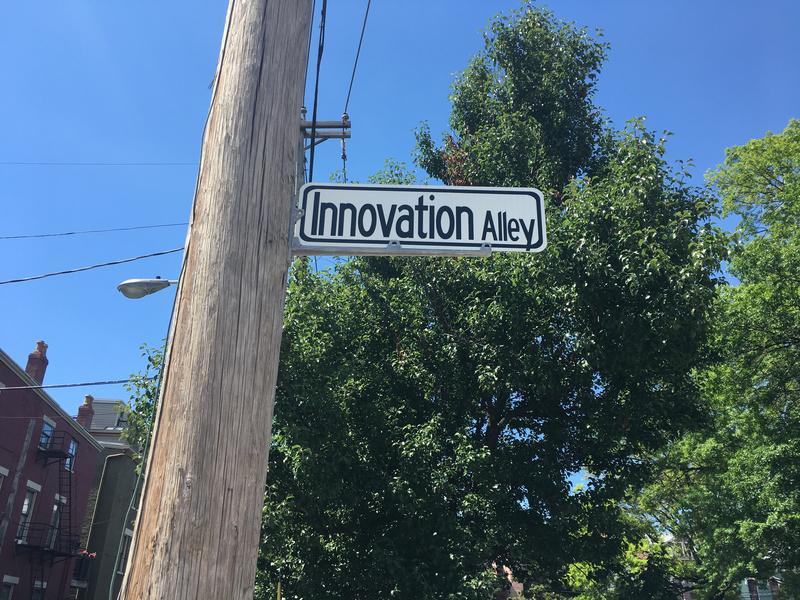 Innovation Alley in Covington is ground zero of tech companies here.