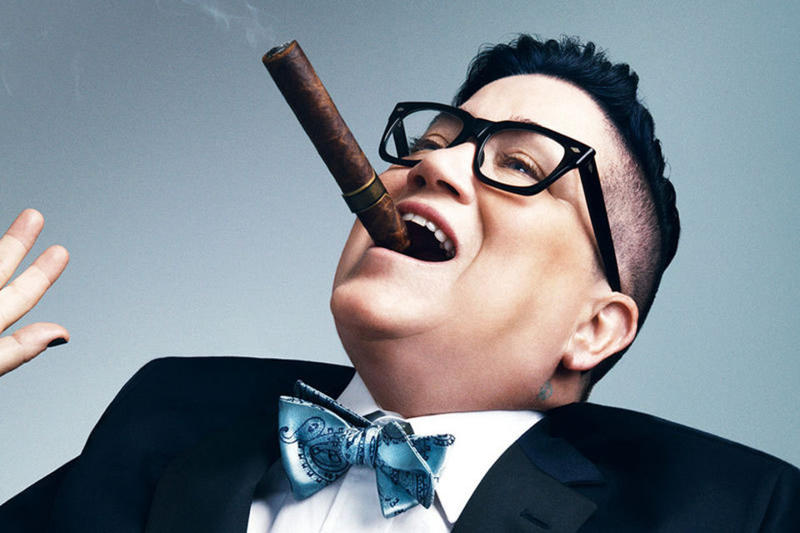 Lea DeLaria performs at the Ludlow Garage Saturday after the Cincinnati Pride Parade
