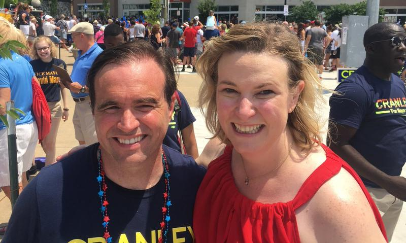 Cincinnati Mayor John Cranley and Dayton Mayor Nan Whaley.
