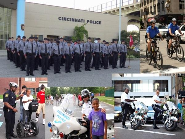 "The Cincinnati Police Department is looking for qualified candidates to be ""Difference Makers"" in the community."