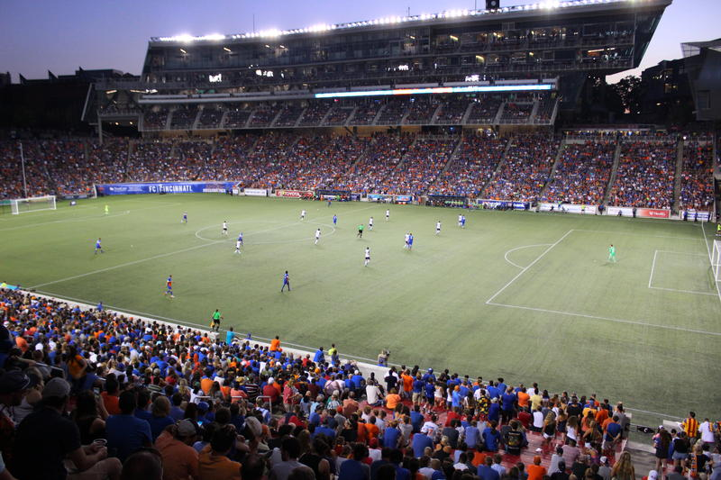 More than 23,000 fans turned out for FC Cincinnati's second international friendly against Valenia CF of Spain's La Liga.