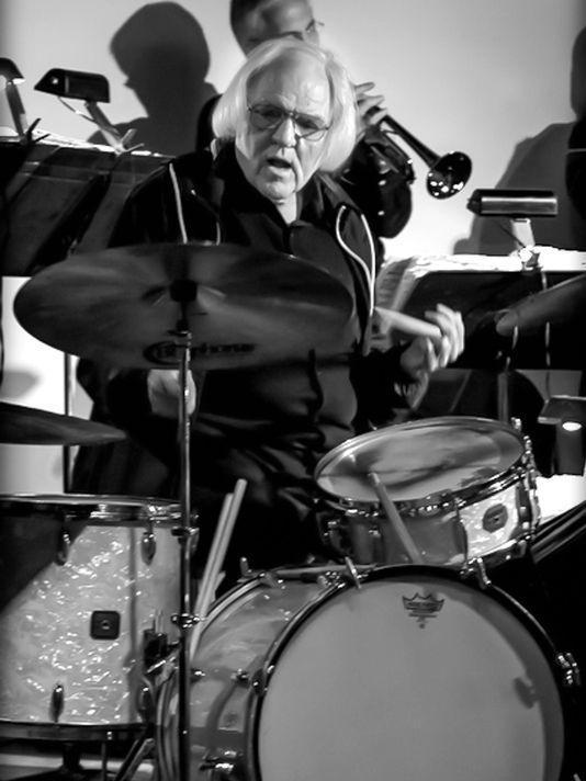 John Von Ohlen on drums.