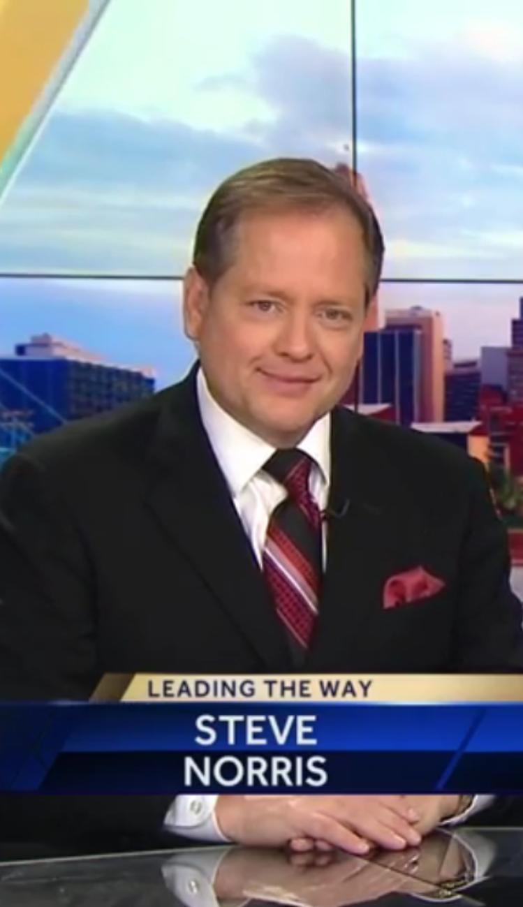 Steve Norris on WLWT-TV