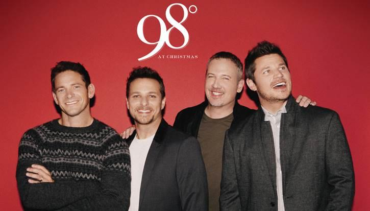 "98 Degrees' ""Let It Snow"" album will be released Oct. 13."