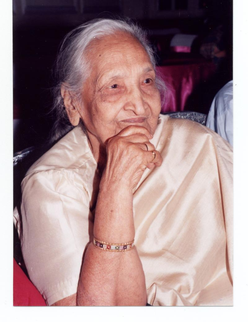 Lilavati Bansal, age 99, is being awarded an honorary doctorate for her writings.