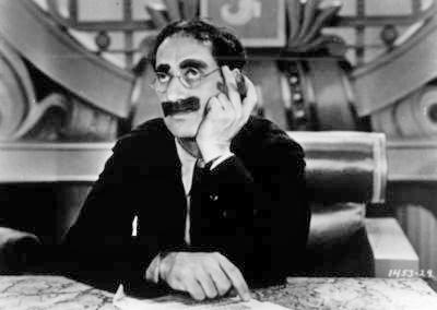 """Groucho Marx in """"Duck Soup"""""""