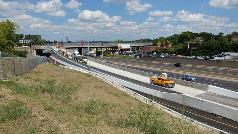 The ramp from MLK to southbound I71 has paving and striping left to do, and should be open by next week.