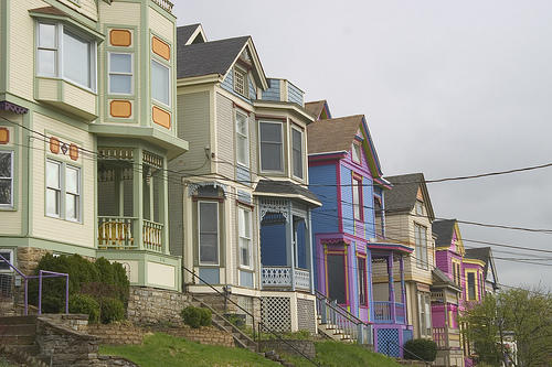 """Colorful Victorian """"Painted Lady"""" homes are a hallmark of historic Columbia Tusculum."""