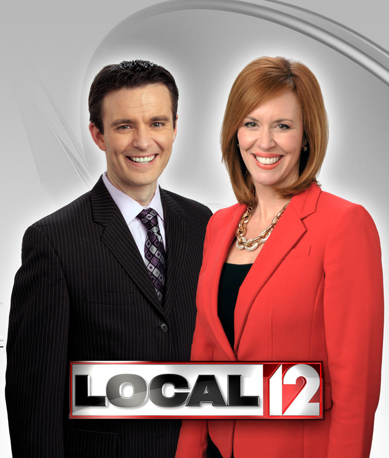 "Bob Herzog and Sheila Gray from WKRC-TV's ""Good Morning Cincinnati"""