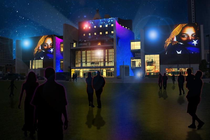 The original composition for Blink can be heard at the Freedom Center.