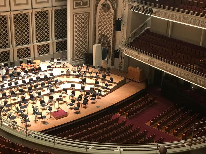 The new Springer Auditorium in Cincinnati Music Hall